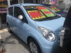沖縄の中古車 スズキ アルトエコ 車両価格 41万円 リ済込 平成25年 7.1万K ライトブルー