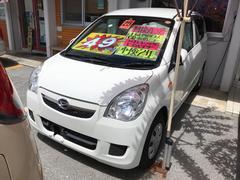 沖縄の中古車 ダイハツ ミラ 車両価格 42万円 リ済込 平成25年 6.8万K ホワイト