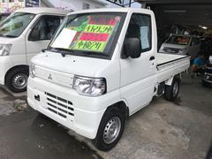 沖縄の中古車 三菱 ミニキャブトラック 車両価格 47万円 リ済込 平成24年 8.3万K 白