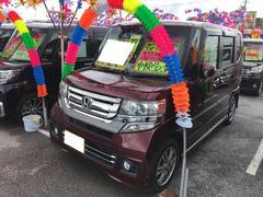 N BOXカスタムG・Lパッケージ ナビ TV 軽自動車 インパネAT AC