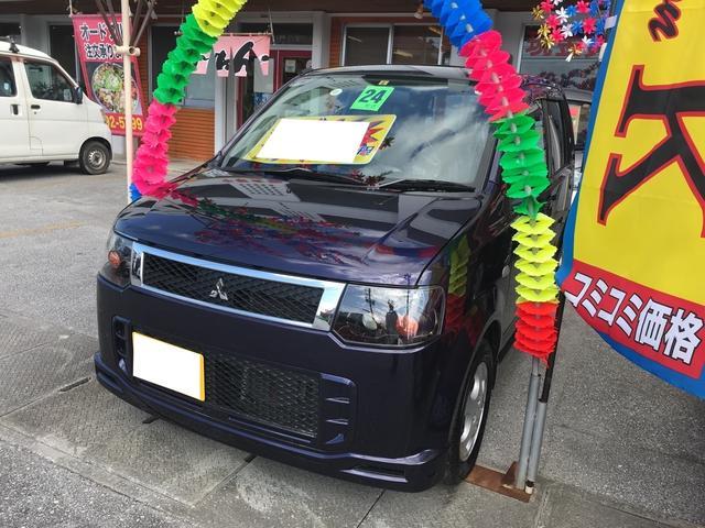沖縄の中古車 三菱 eKスポーツ 車両価格 51万円 リ済込 平成24年 6.4万km ミスティックバイオレットパール