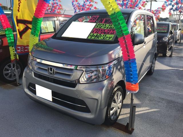 沖縄県の中古車ならN-WGN G TV ナビ 軽自動車 ETC グレー CVT AC