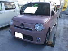 ミラココアココアプラスX 軽自動車 ムースピンクパール CVT AC