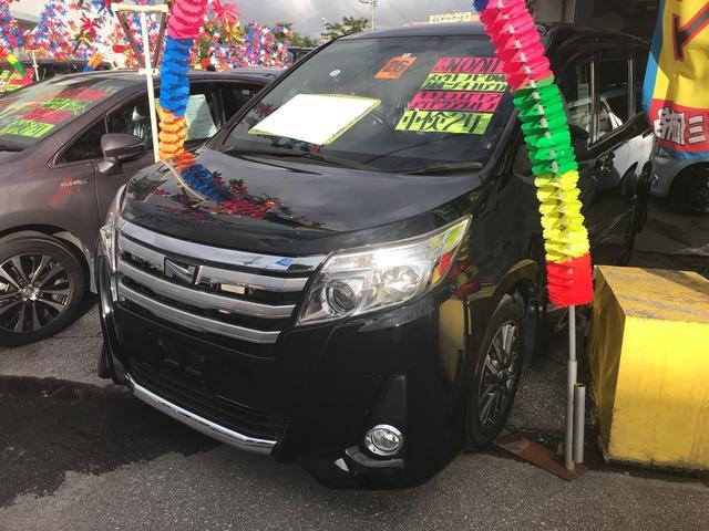沖縄県の中古車ならノア Si 電動スライドドア TV ナビ AW LED ETC