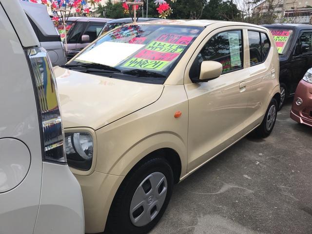 沖縄の中古車 マツダ キャロル 車両価格 71万円 リ済込 平成28年 3.3万km クリーム