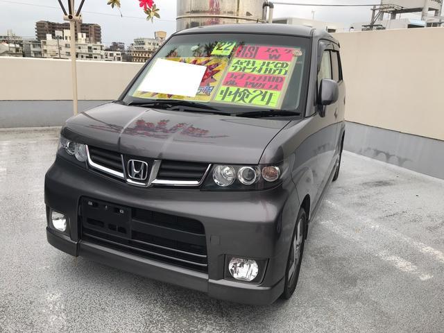 沖縄の中古車 ホンダ ゼストスパーク 車両価格 51万円 リ済込 平成22年 7.7万km アドミラルグレーメタリック