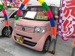 N BOXG・Lパッケージ TV ナビ 軽自動車 ピンク CVT AC