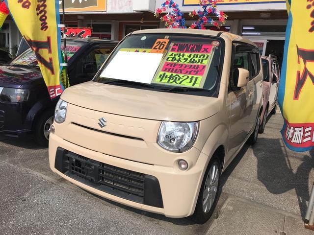 沖縄の中古車 スズキ MRワゴン 車両価格 62万円 リ済込 平成26年 6.3万km ベージュ