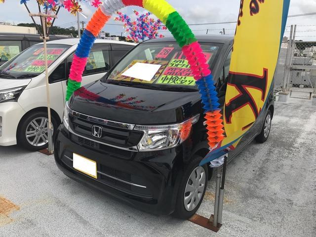 沖縄県の中古車ならN-WGN G ナビ TV AC スマートキー CD CVT ブラック