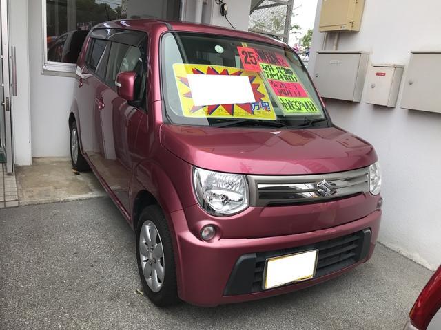沖縄の中古車 スズキ MRワゴン 車両価格 57万円 リ済込 2013(平成25)年 8.8万km カシスピンクパールメタリック