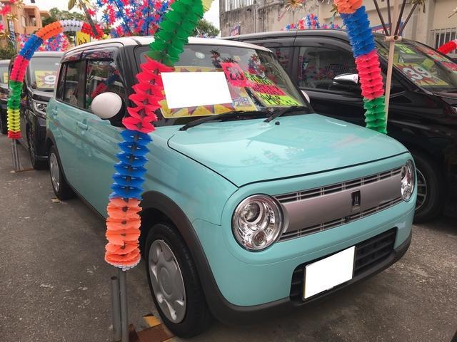 沖縄県の中古車ならアルトラパン S ナビ 衝突被害軽減システム アラウンドビューモニター