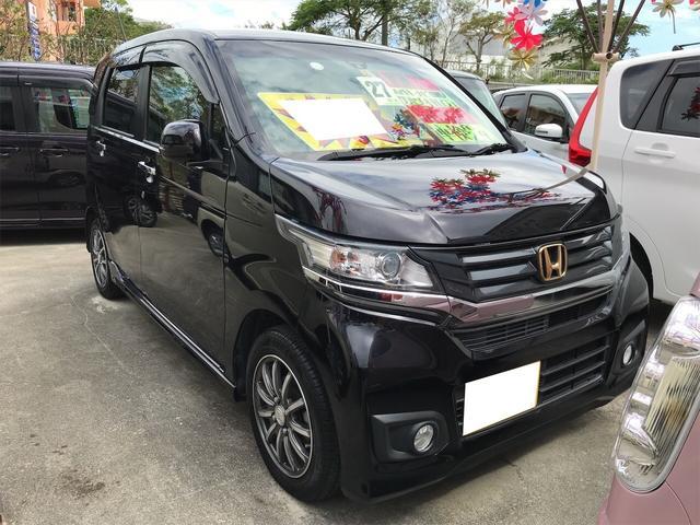 ホンダ N-WGNカスタム G・ターボパッケージ TV ナビ 軽自動車