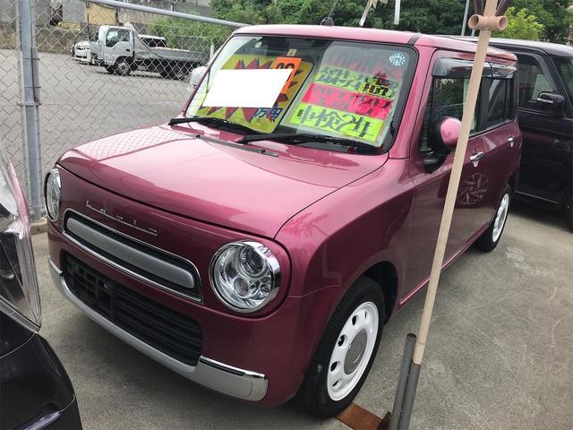 沖縄県糸満市の中古車ならアルトラパンショコラ X インテリジェントキー ベンチシート キーレス アイスト