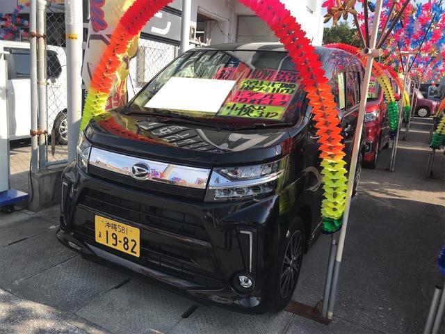沖縄県の中古車ならムーヴ カスタム Xリミテッド SAIII TV ナビ 軽自動車