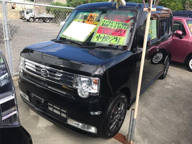 沖縄県の中古車ならムーヴコンテ カスタム X TV ナビ 軽自動車 ブラックマイカメタリック