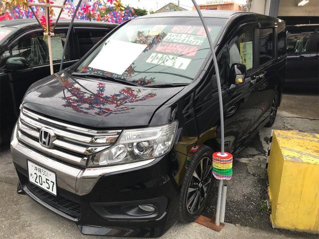 沖縄県糸満市の中古車ならステップワゴンスパーダ Z クールスピリット 両側電動スライドドア ナビ