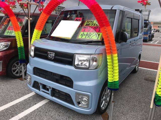 沖縄県糸満市の中古車ならウェイク L SAII ナビ 軽自動車 ETC 衝突被害軽減システム