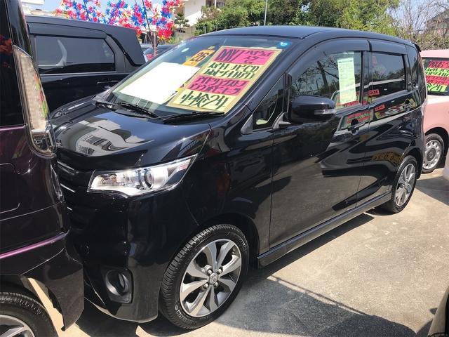 沖縄の中古車 日産 デイズ 車両価格 67万円 リ済込 2014(平成26)年 6.1万km ブラック