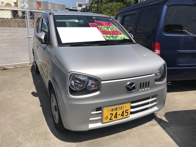 沖縄の中古車 マツダ キャロル 車両価格 63万円 リ済込 2016(平成28)年 1.7万km シルキーシルバーメタリック
