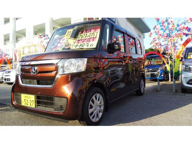 沖縄県の中古車ならN-BOX G・Lターボホンダセンシング