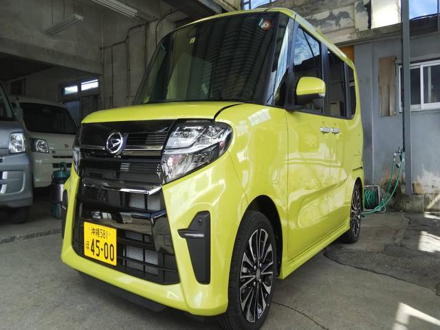 沖縄県糸満市の中古車ならタント カスタムRS ターボ付 エコアイドル