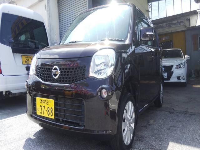 沖縄の中古車 日産 モコ 車両価格 61万円 リ済込 2014(平成26)年 7.8万km アーバンブラウンPM