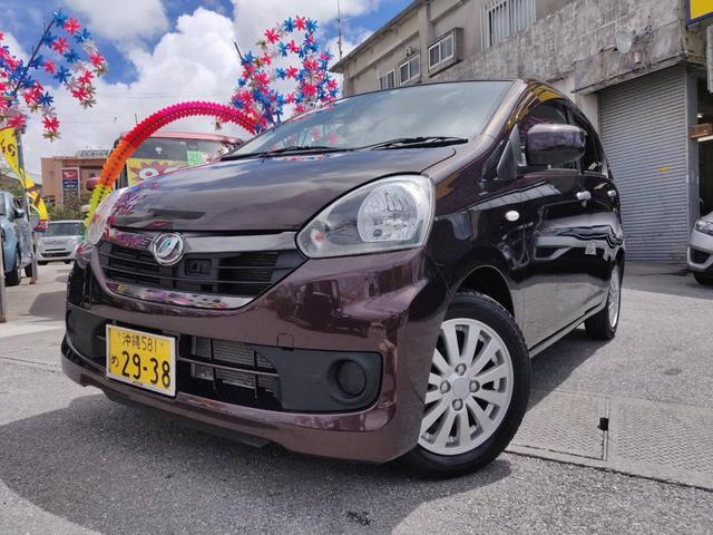 沖縄県の中古車ならミライース X リミテッドSA 軽自動車 衝突被害軽減システム プラムブラウンクリスタルマイカ CVT