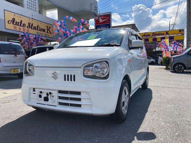 沖縄の中古車 スズキ アルト 車両価格 41万円 リ済込 2015(平成27)年 7.5万km スペリアホワイト