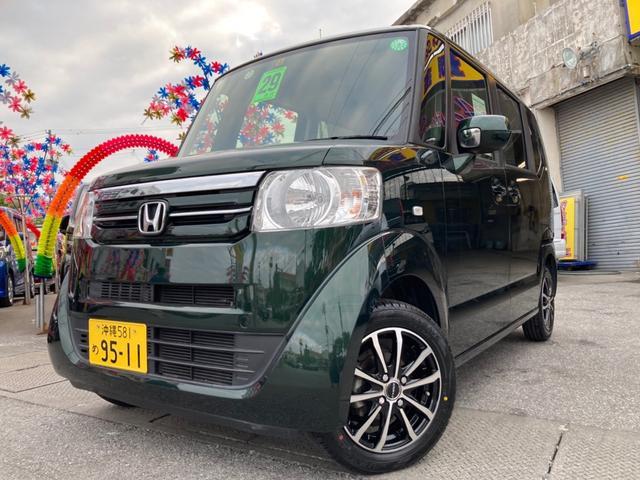 沖縄県糸満市の中古車ならN-BOX G スマートキ アイドリングS アルミホイール セキュリティ パワーウインドウ 両スライド