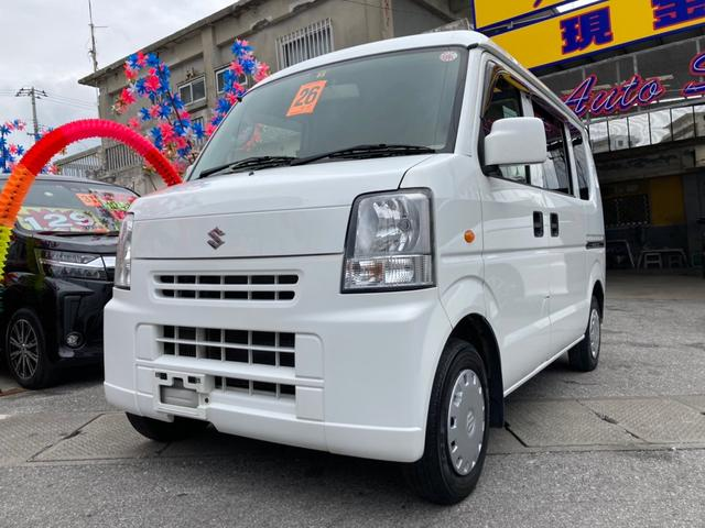 沖縄県糸満市の中古車ならエブリイ ジョイン パワーウインドウ 両側スライドドア ABS パワステ