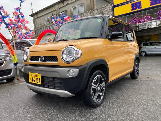 沖縄県糸満市の中古車ならフレアクロスオーバー XS アイドリングストップ ブレーキサポート 盗難防止システム
