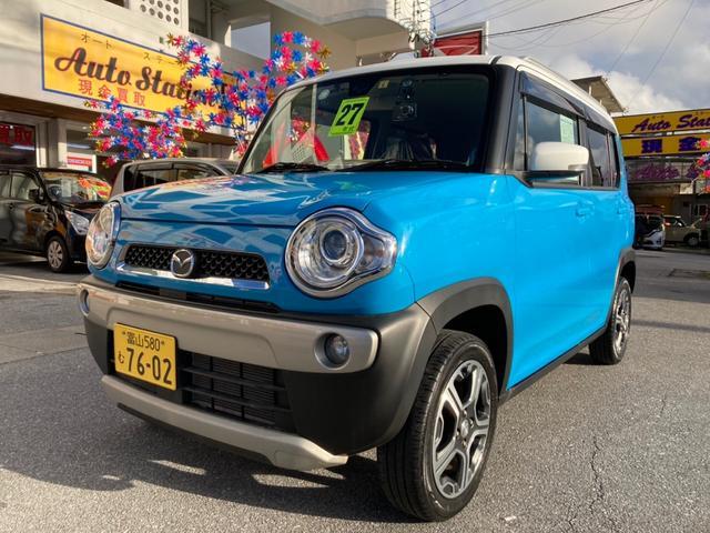 沖縄県の中古車ならフレアクロスオーバー XG スマキー 衝突軽減 HIDヘッド シートヒーター ABS
