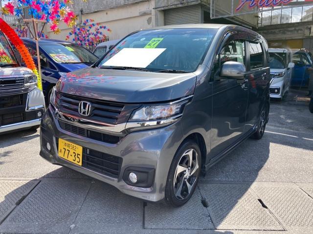沖縄県の中古車ならN-WGNカスタム G・ターボパッケージ クルコン ターボ車 ベンチシート 盗難防止装置