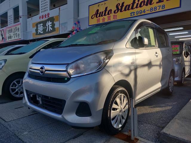沖縄県糸満市の中古車ならデイズ J デュアルエアバッグ VDC キーレスキー AC PW 電動電格ミラー