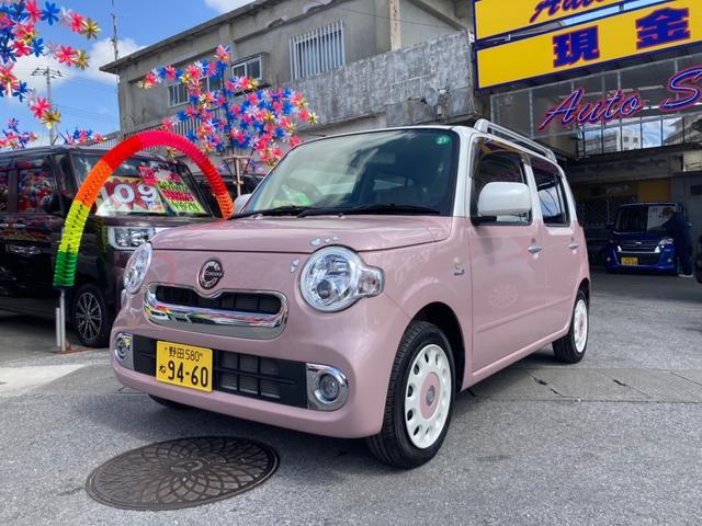沖縄県糸満市の中古車ならミラココア ココアプラスX ピンクII オーディオ付 スマートキー ベンチシート パワーウィンドウ