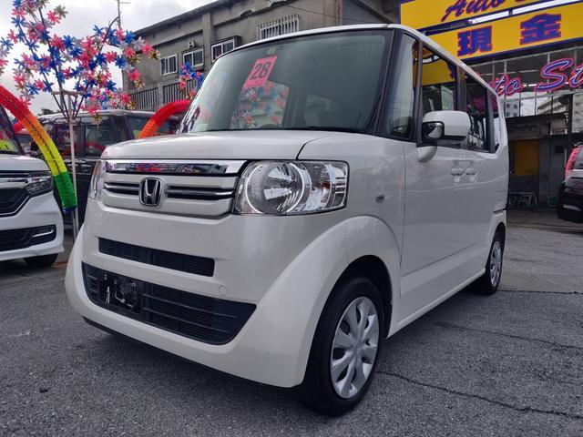 沖縄県糸満市の中古車ならN-BOX G セキュリティ パワーウインドウ CD付 左右スライドドア ETC車載器