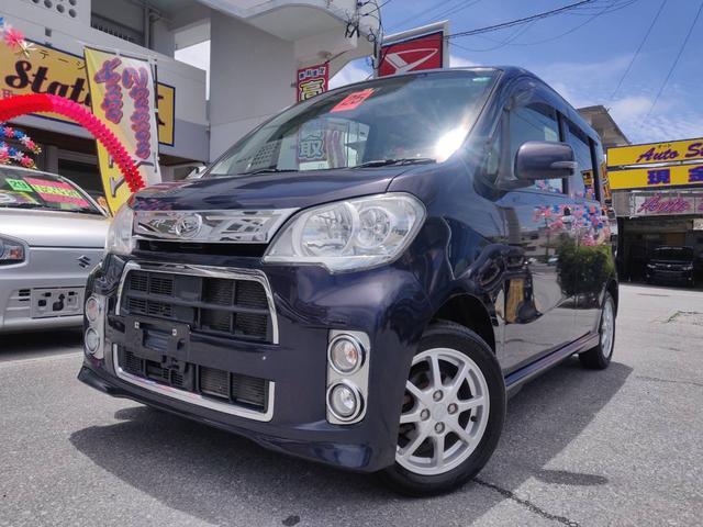 沖縄県の中古車ならタントエグゼ カスタムG HIDヘッド ABS スマキー エコアイドル キーフリーシステム