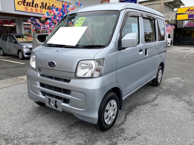 沖縄の中古車 スバル サンバーバン 車両価格 47万円 リ済込 2015(平成27)年 11.2万km シルバー