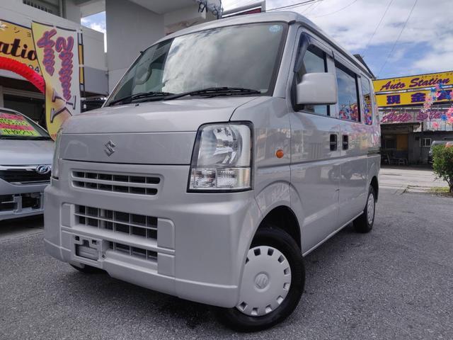 沖縄県糸満市の中古車ならエブリイ ジョインターボ 盗難防止 Wエアバック エアコン PS