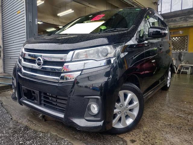 沖縄の中古車 日産 デイズ 車両価格 71万円 リ済込 2016(平成28)年 5.4万km ブラック