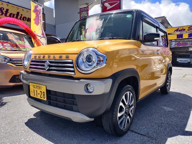 沖縄県の中古車ならハスラー JスタイルII デュアルカメラサポート Sエネチャージ ベンチシート HID シートヒーター