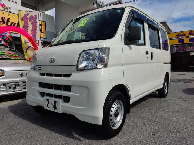 沖縄県糸満市の中古車ならハイゼットカーゴ スペシャル 軽バン 両側スライドドア エアコン
