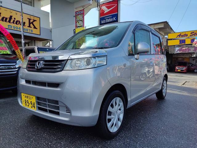 沖縄の中古車 ホンダ ライフ 車両価格 28万円 リ済込 2012(平成24)年 9.1万km シルバー