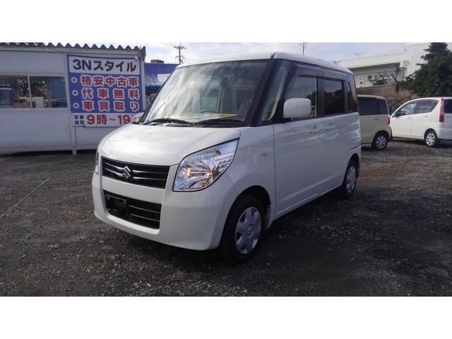 沖縄の中古車 スズキ パレット 車両価格 46.8万円 リ済込 平成24年 10.5万km ホワイト