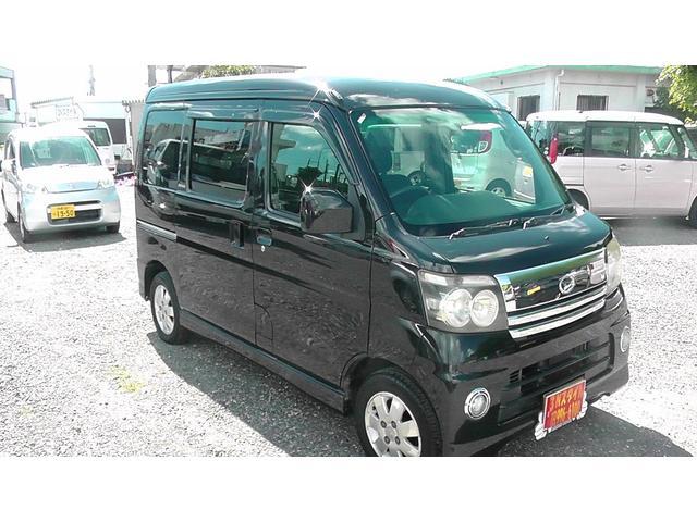 沖縄の中古車 ダイハツ アトレーワゴン 車両価格 28万円 リ済込 平成18年 16.4万km ブラック