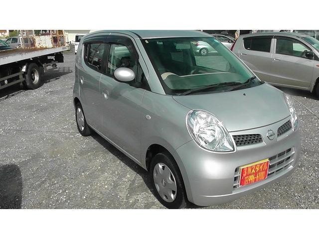 沖縄の中古車 日産 モコ 車両価格 34万円 リ済込 平成20年 11.3万km ライトシルバー