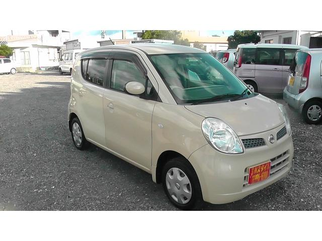 沖縄の中古車 日産 モコ 車両価格 25万円 リ済込 平成18年 12.0万km ライトイエロー