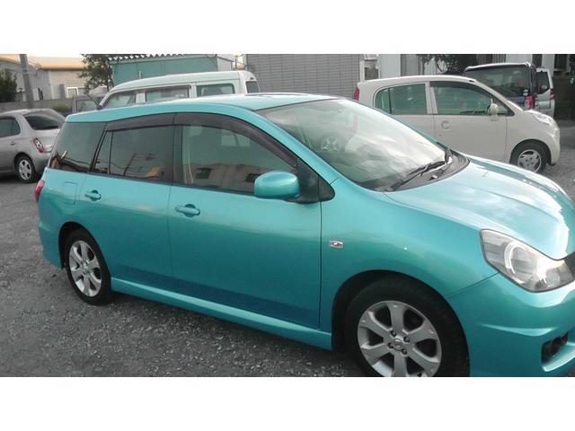 沖縄の中古車 日産 ウイングロード 車両価格 39万円 リ済込 平成17年 5.1万km ブルー