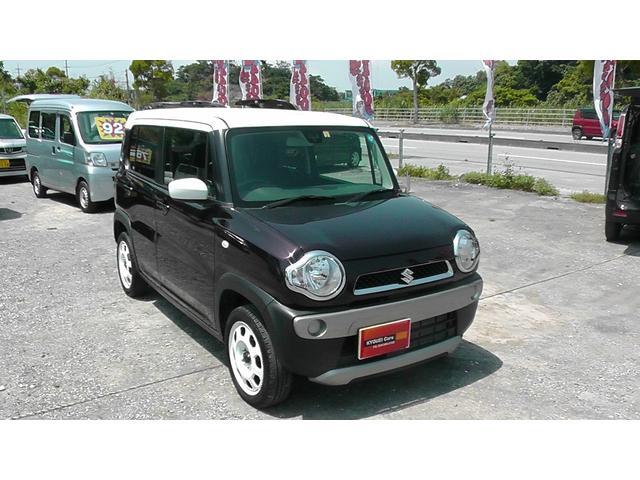 沖縄の中古車 スズキ ハスラー 車両価格 113万円 リ済込 平成30年 1.2万km パープルII