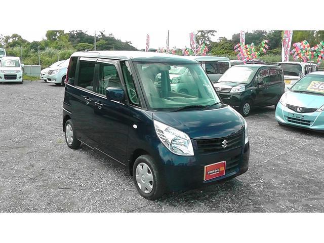 沖縄の中古車 スズキ パレット 車両価格 25万円 リ済込 2008(平成20)年 8.9万km ノクターンブルーパール